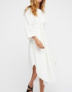 NWT Free People  You Go Girl Dress. Med or Lg